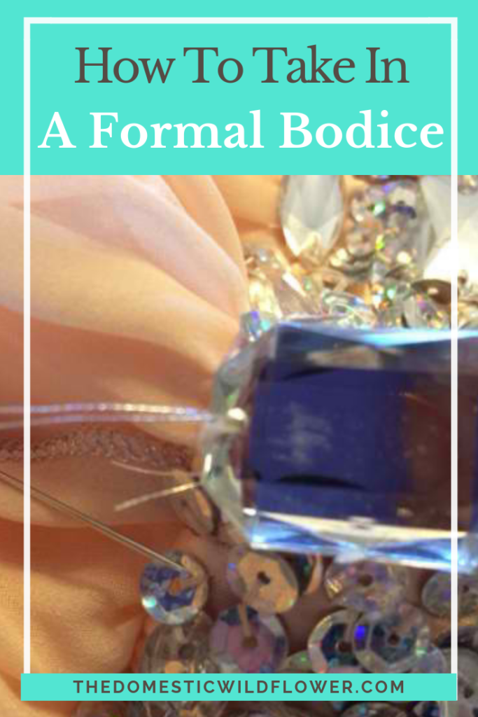 How to Take In a Formal Bodice