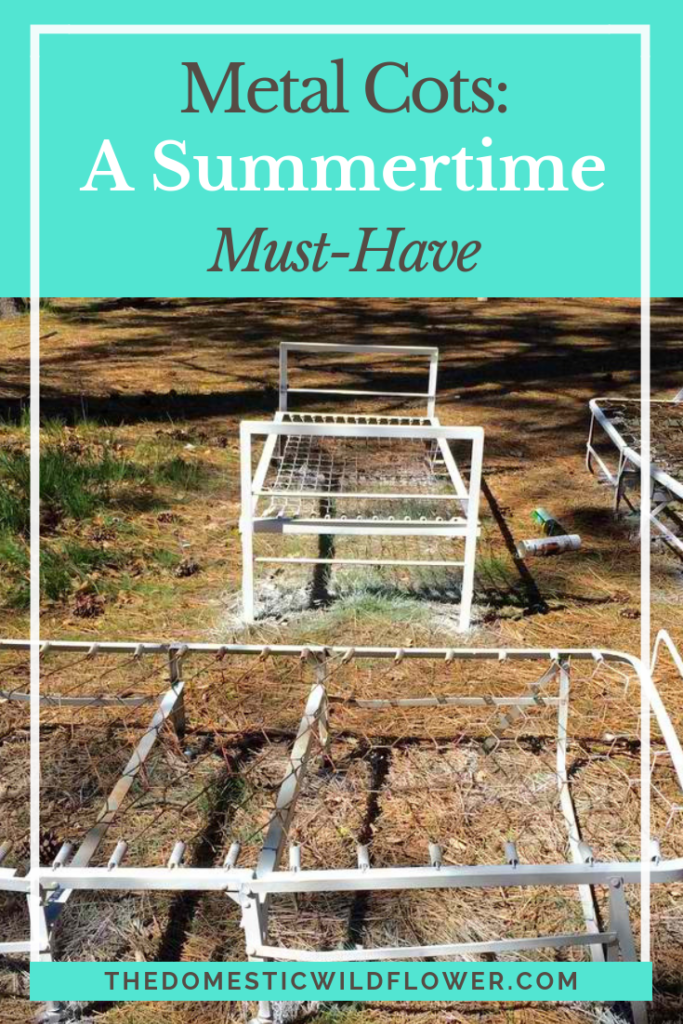 Metal Cots: A Summertime Must Have