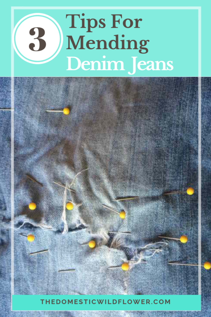 Mending Denim Jeans: 3 Tips for Fixing Denim
