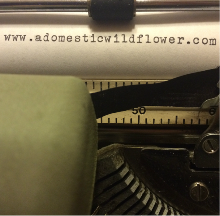 Typewriter 101: Tips for Purchasing a Vintage Typewriter from A Domestic Wildflower click to read this super helpful post that explains what to look for-and what to leave behind-when shopping for a vintage typewriter.