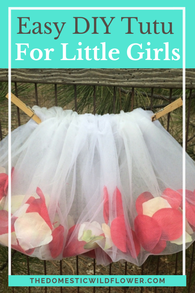 Easy Little Girl's Tutu: A Sewing Project for Beginners