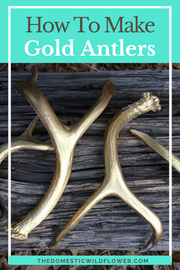 How to Make Gold Antlers