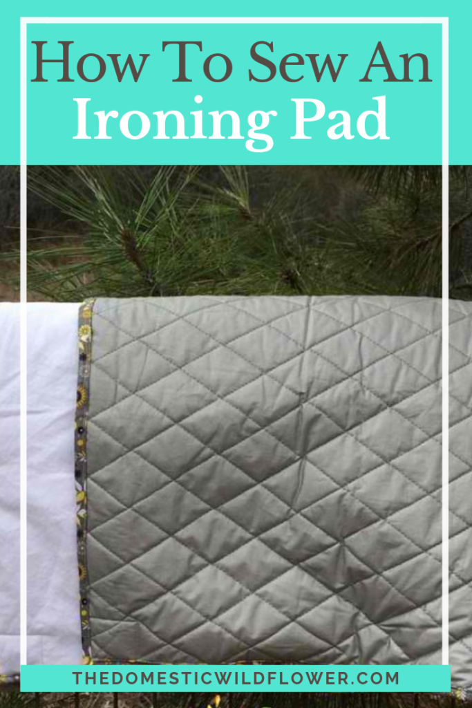How to Sew an Ironing Pad