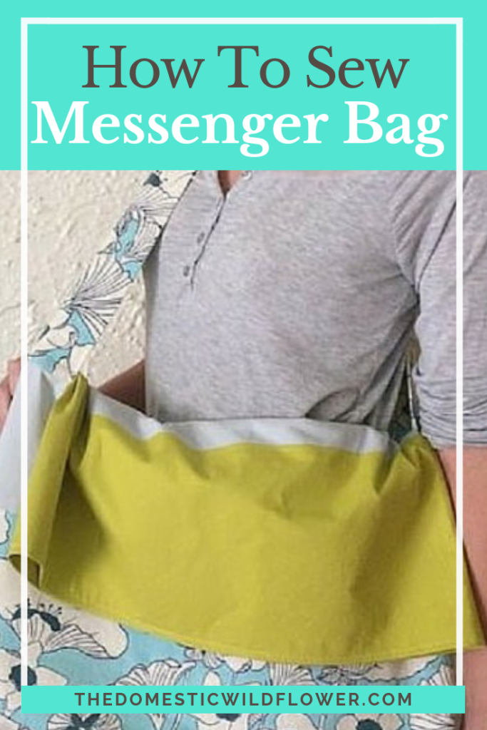Messenger Bag: A Great Sewing Pattern for Beginners