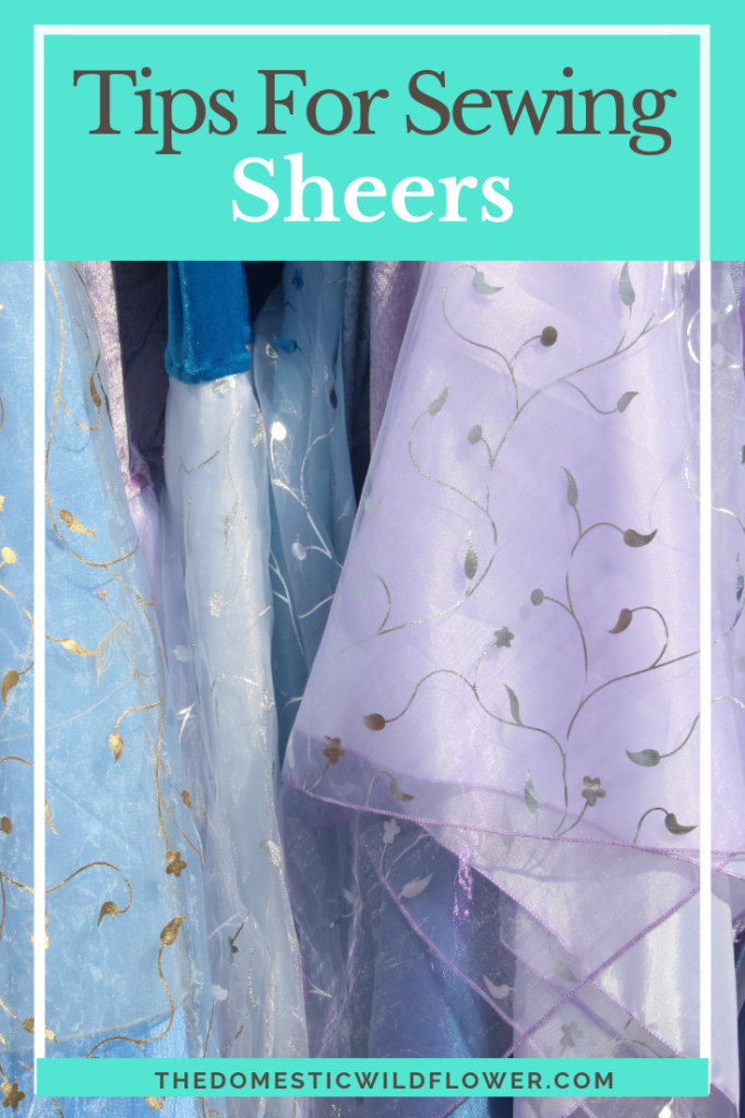 Tips for Sewing Sheers: A Craftsy Class for Sewing Success