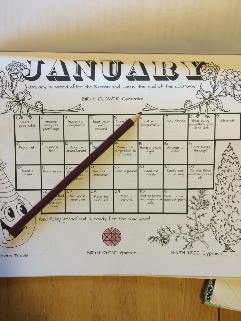 Teaching Months and Days to Kids | A Domestic Wildflower click to read this helpful post about using a coloring book + calendar to teach kids about the days of the week and the months!