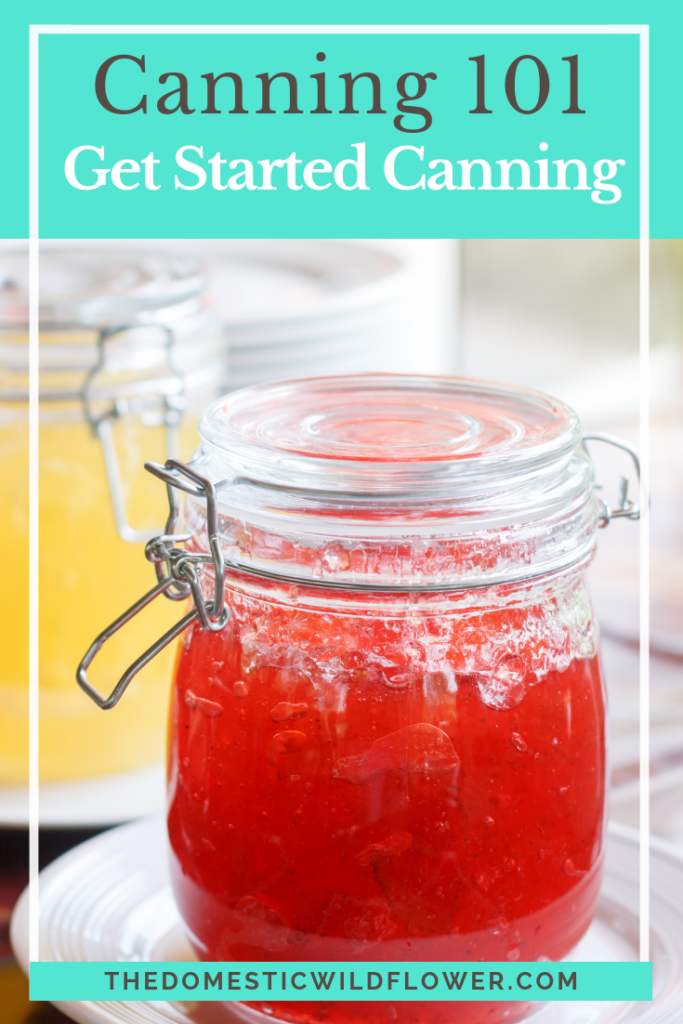 Canning 101: Get Started Canning