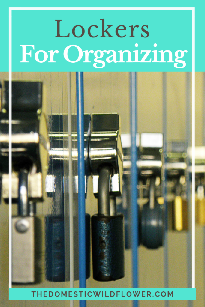 Lockers for Organizing