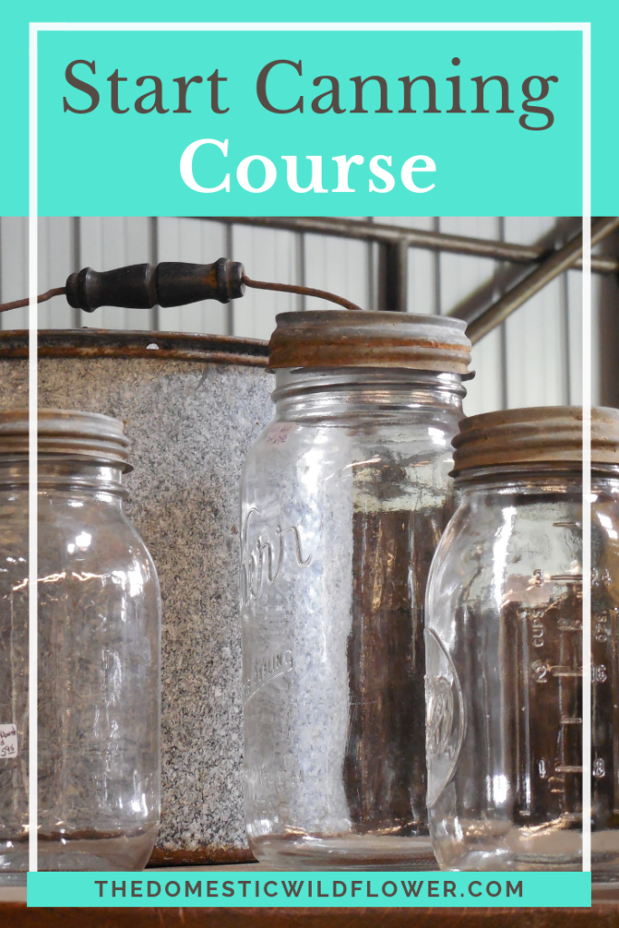 Start Canning Course