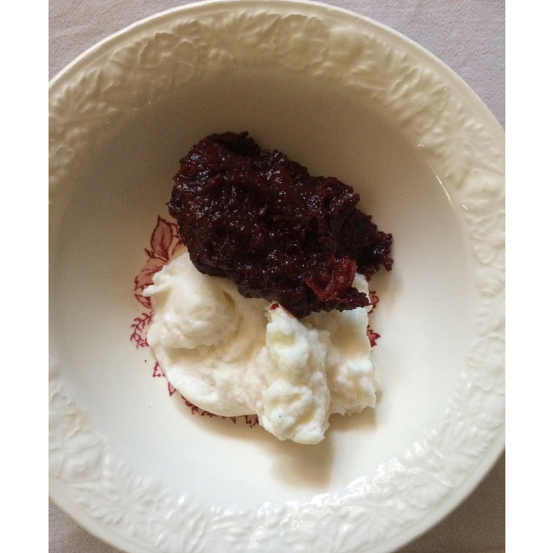 Chocolate Cranberry Mole: A Fermented Paste from The Domestic Wildflower click to read this fermenting tutorial for a delicious, spicy-sweet fermented paste that is amazing with vanilla ice cream!