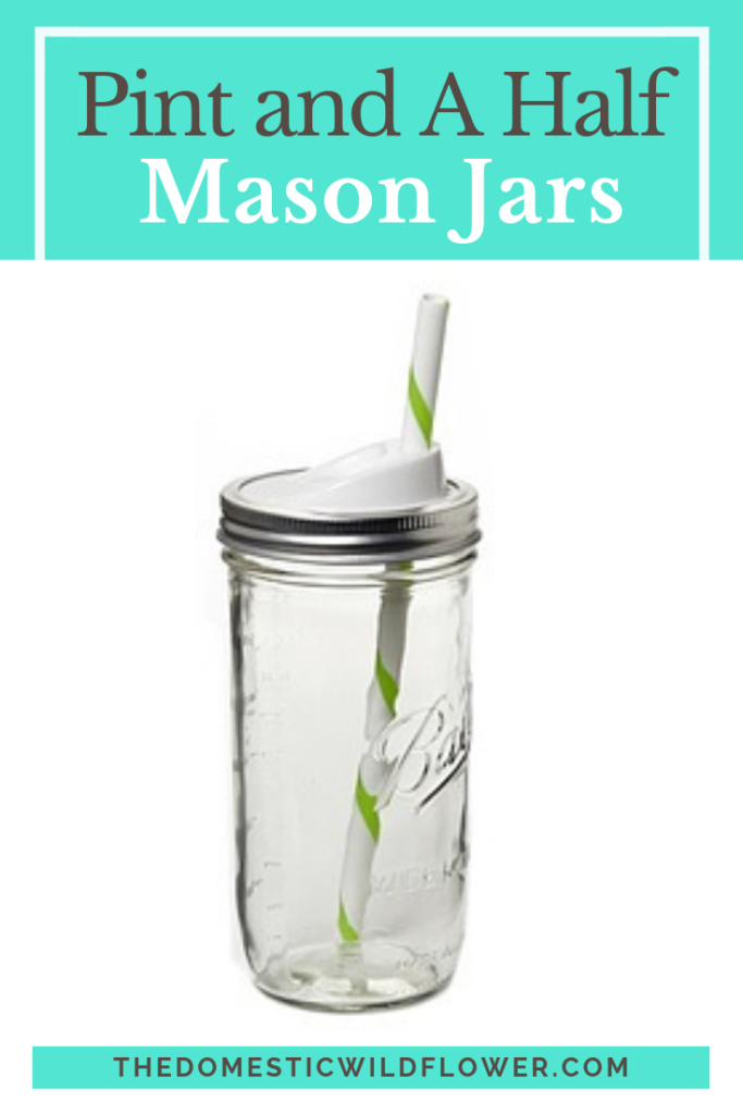 Praise for the New Pint and a Half Mason Jar