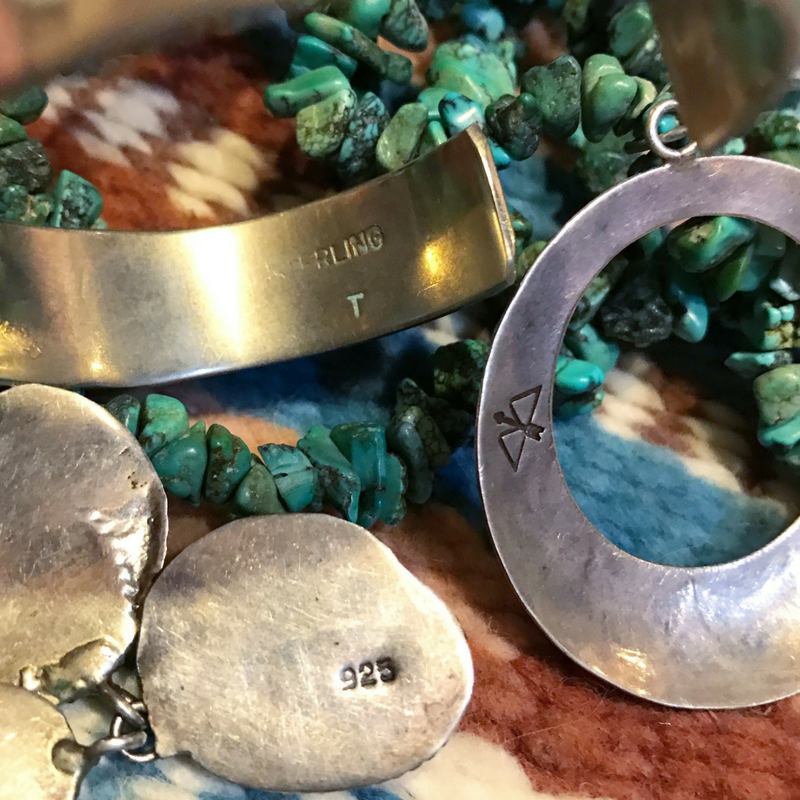 Tips for Buying Vintage Silver Jewelry | The Domestic Wildflower click through to get the terms, tips, and inside expert advice on buying vintage silver, how to know the age and where they come from, so you can buy with confidence! Click through to swoon over gorgeous images of silver!