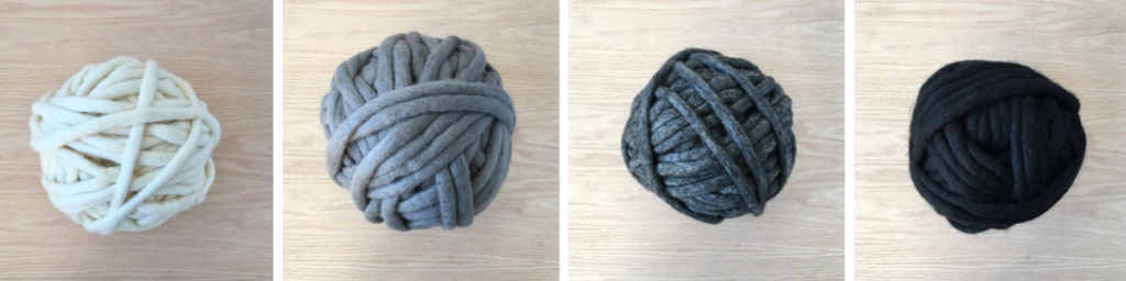 Felted Yarn Basket