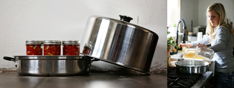 Differences between water bath canning and steam canning