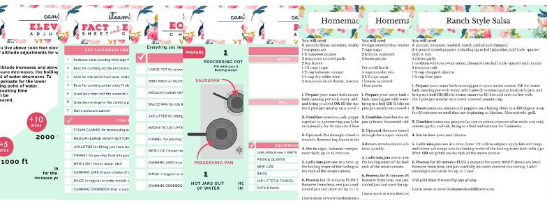Canning Jumpstart Guide