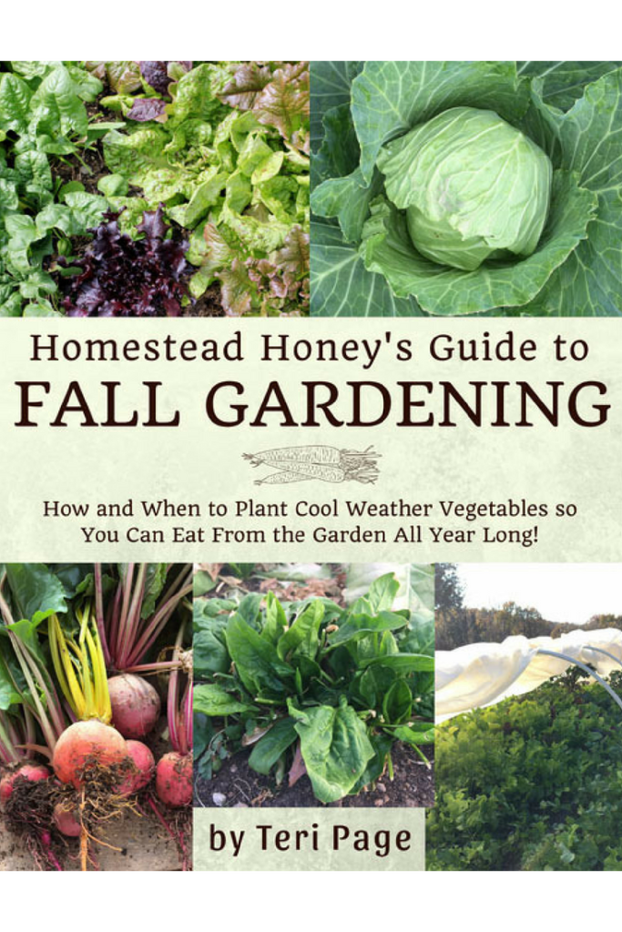 Get Homestead Honey's Guide to Fall Gardening! Such a great resource for a successful and fun fall garden!