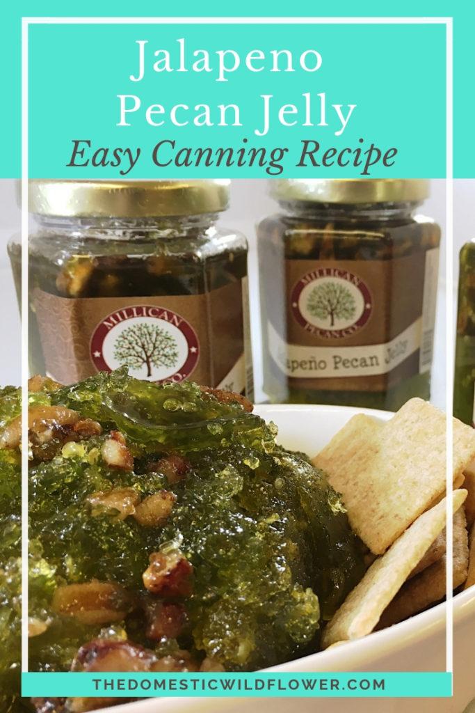 How to Make Jalapeño Pecan Jelly Canning Recipe