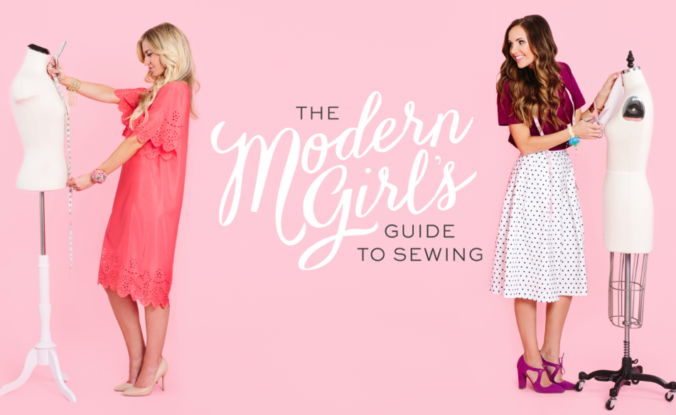 Learn how to sew with Modern Girl's Guide to Sewing