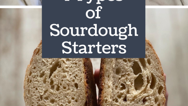 4 Types of Sourdough Starters