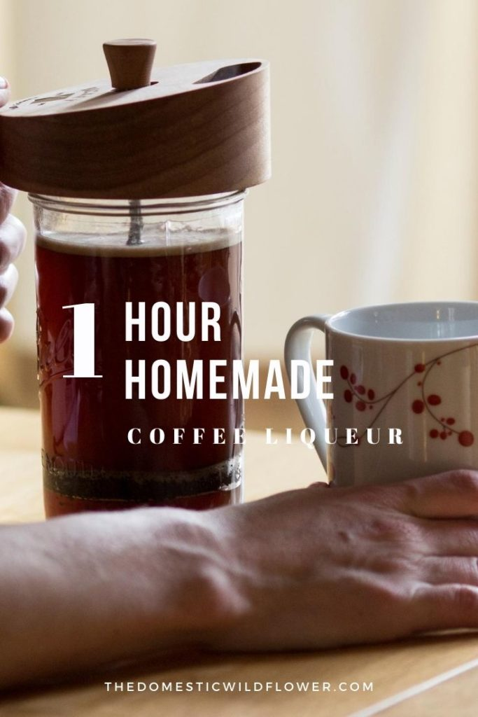 1 Hour Homemade Coffee Liqueur
