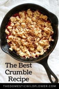 The Best Crumble Recipe