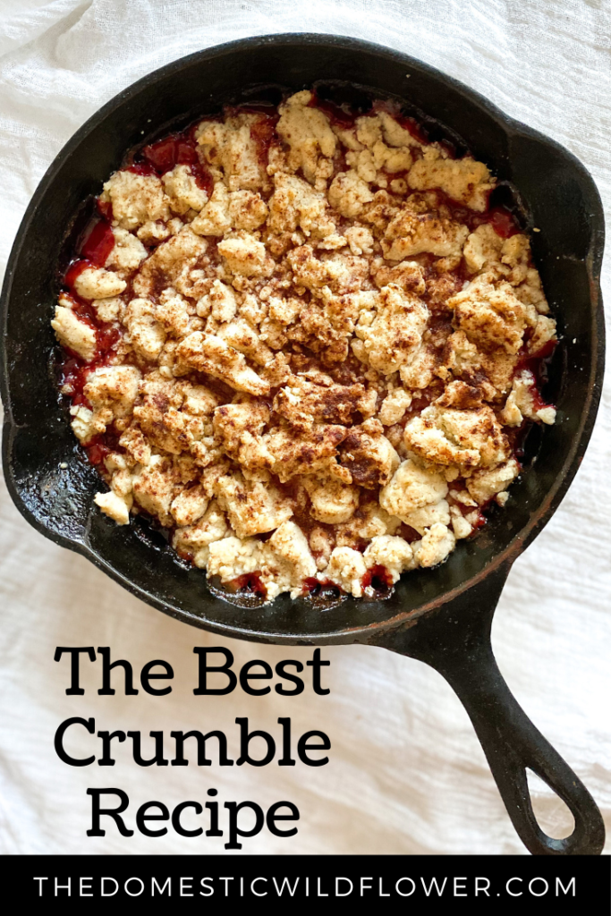 Best Crumble Recipe