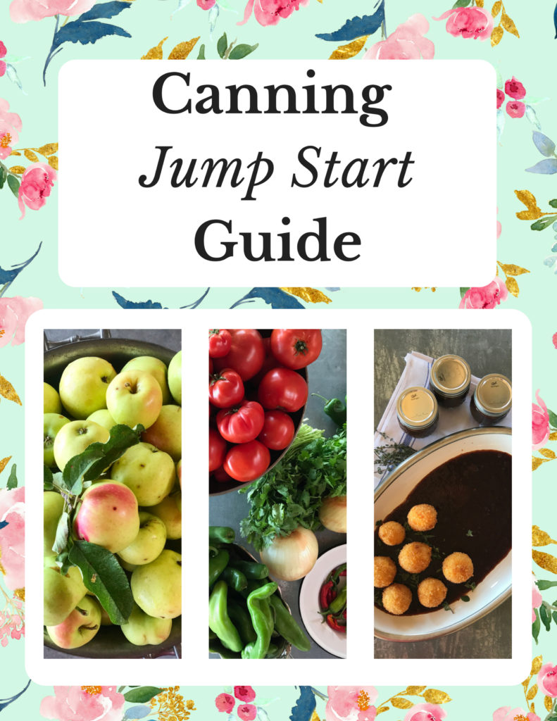 Canning Jump Start Guide